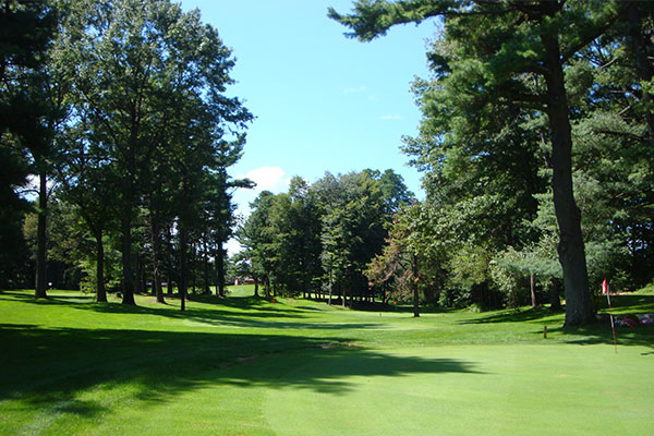 Whispering Pines Golf Course green photo